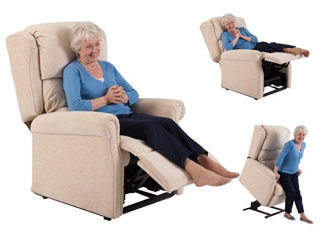 Adjustable Electrically Operated Chairs From Theraposture - Rise recline chairs