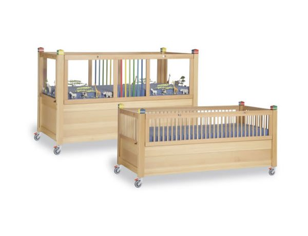 wooden cots