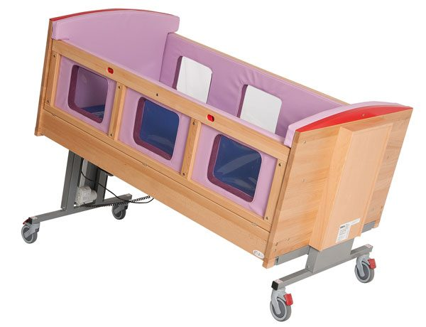 Safe T Bed cot at an angle