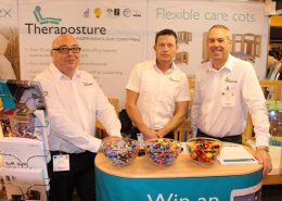 Theraposture team with bowls of sweets