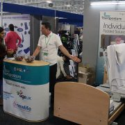 Theraposture stand showing Rotoflex