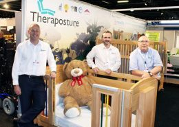 Trusted Assessor team with Mascot cot at Kidz South