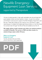 Newlife emergency service PDF