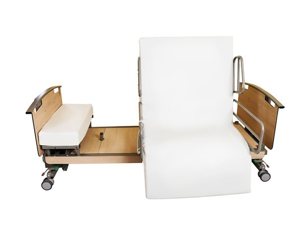 Rotoflex 235 rotating low access bed