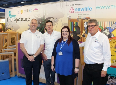 Theraposture and Newlife working together at Kidz exhibition