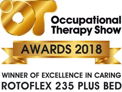 Excellence in caring winner - rotoflex 235 - OT Award