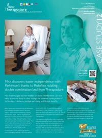 Mick Roberts' Rotoflex double bed case study
