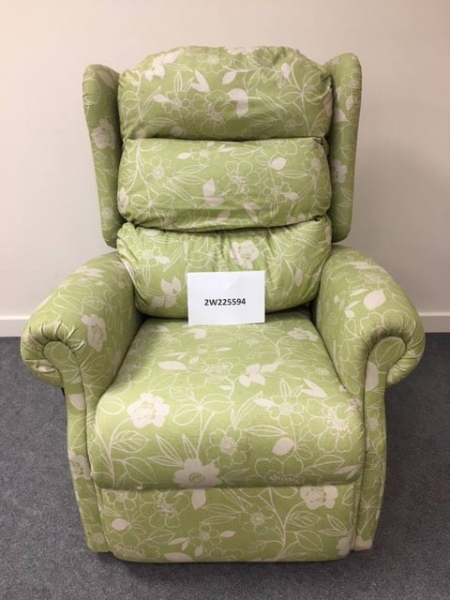 Fern green Single Motor TIS Riser Recliner Chair