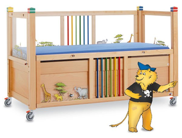 Timmy coloured cot
