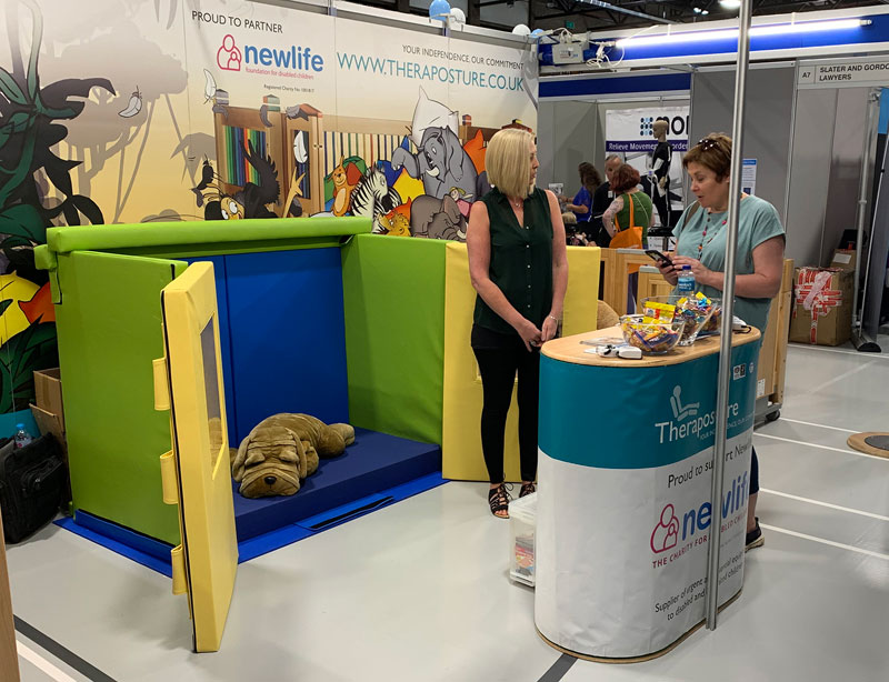 Theraposture Exhibition stand at KidzNorth